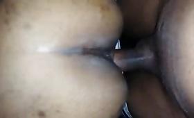 इंडियन गांड में काला लोड़ा